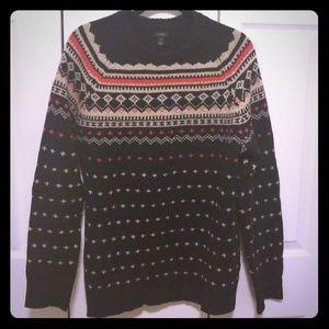 Fairisle sweater from J. Crew